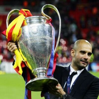 Pep Guardiola's reign at Barcelona timeline