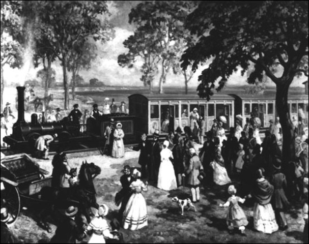 The Champlain and St. Lawrence Railroad