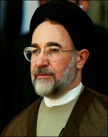 Khatami is Elected President