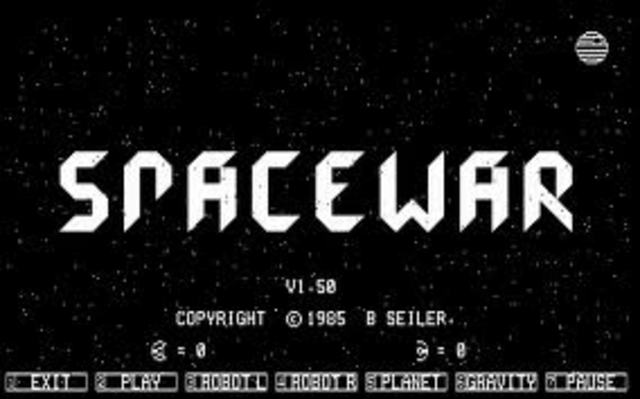 First Computer game invented