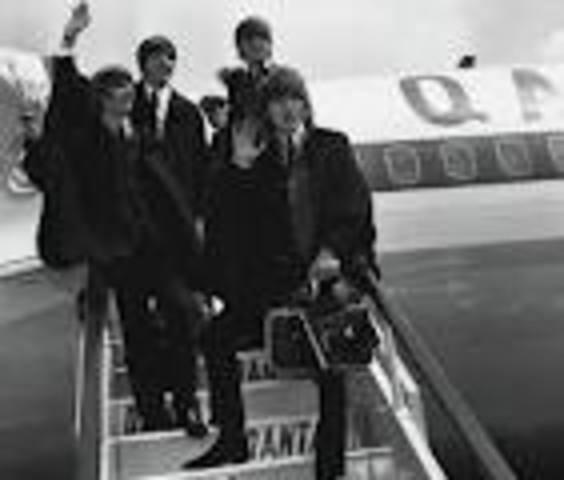 The Beatles tour Australia