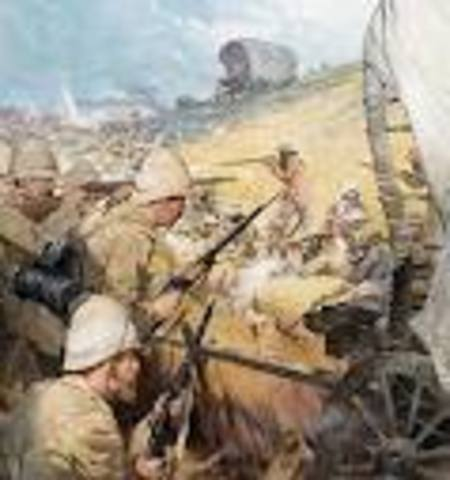 End of Boer War