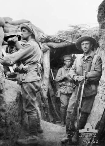 Australia enters World War l