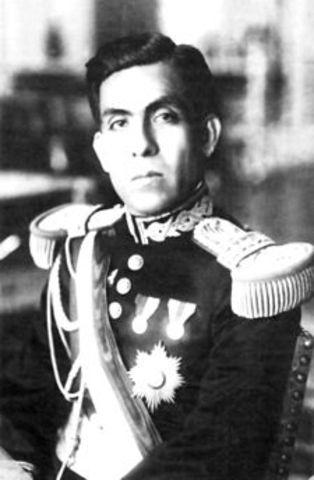 Luis Miguel Sánchez Cerro 1931-12-08/1933-04-30 (†)