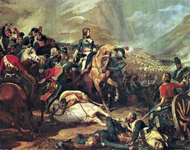 Napoleon wins the Battle of Rivoli