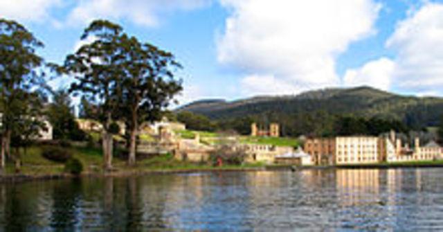 Port Arthur massacre in Tasmania