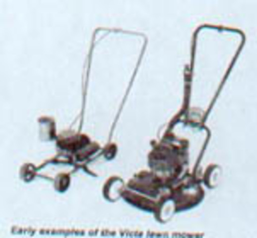 The Victa motor mower is invented