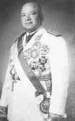 Ricardo Pío Pérez Godoy 1962-07-18/1963-03-03