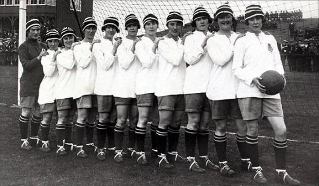 The First Women's Soccer Team