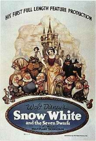 Sports and Music: Snow White and the Seven Dwarfs is Released to Theaters