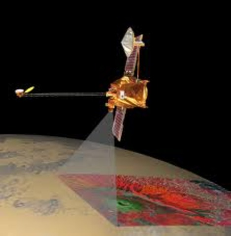 The Mars Odyssey began its extended mission