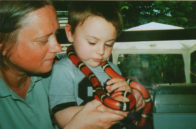 My first real snake at nursery