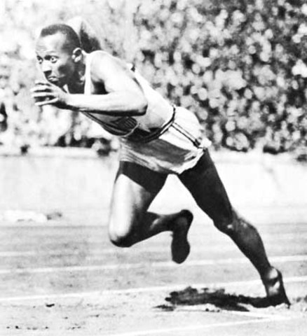 Sports and Music: Jesse Owens teaches Hitler a Lesson