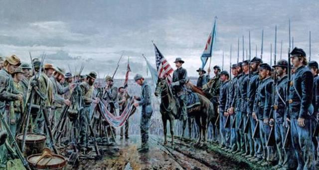 Confederates Surrender