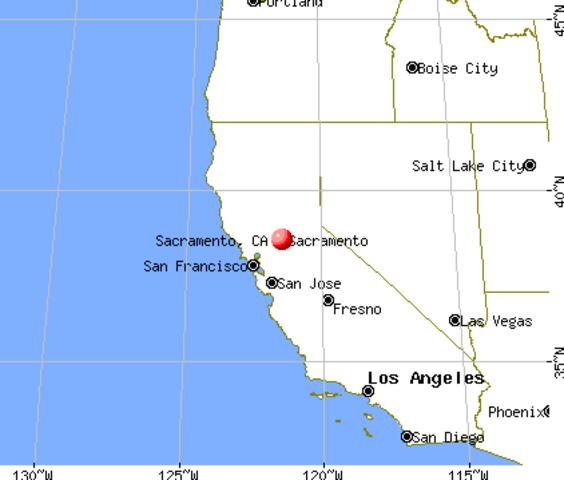 Sacramento as state capital