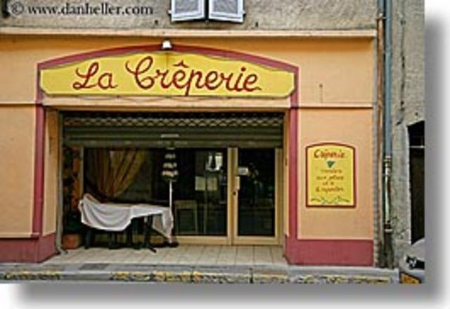 La boutique des crêpes.
