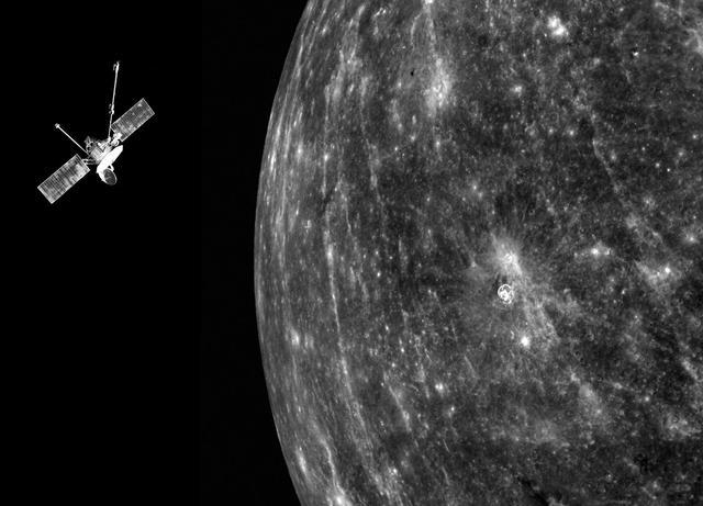 Mariner 10 passed Mercury