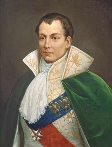 Napoleon names his brother, Joseph Bonaparte, king of Naples, and appoints other family members to various other posts