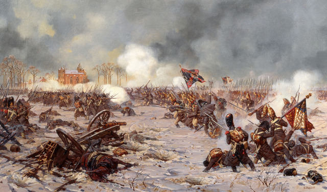 Battle of Eylau.