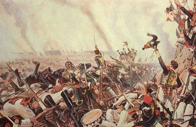 Battle of Borodino.