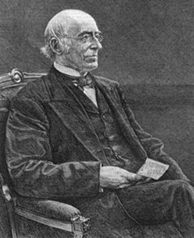 William Lloyd Garrison Speaks About Slaves