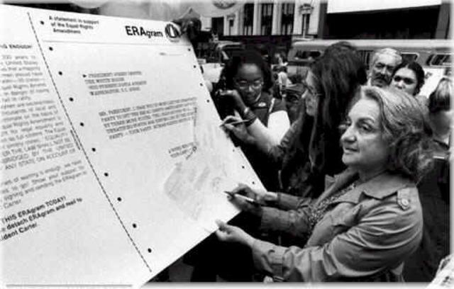 The Equal Rights Amendment Passes Congress
