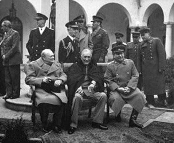 Cold War Begins - Yalta Conference