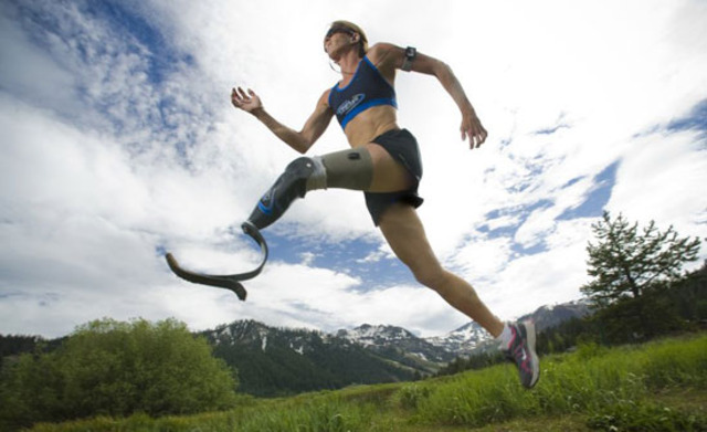 Amy Palmiero- Winters first amputee to qualify for U.S. National Track & Field Team.
