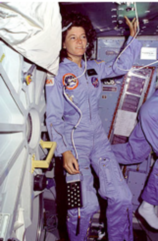 First women in space.
