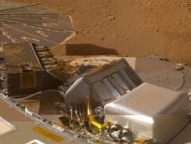 Findings on Mars