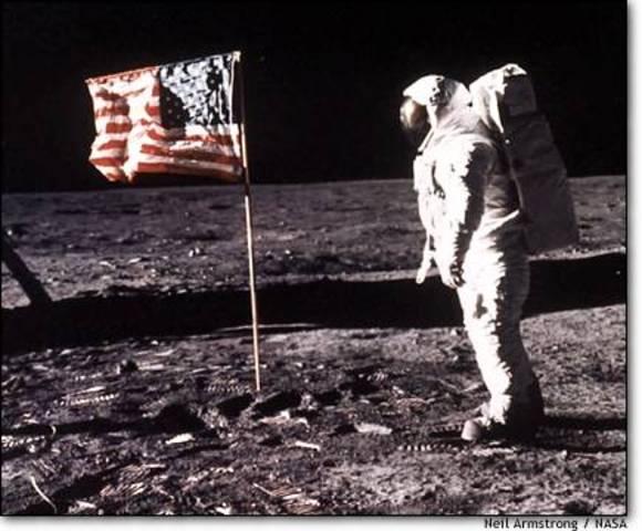 US Man on the Moon