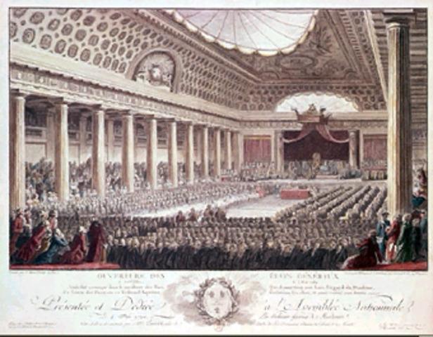 Ouverture des Etats généraux à Versailles