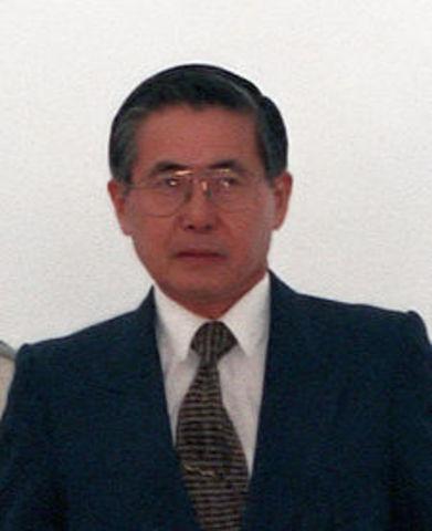Alberto Kenya Fujimori Fujimori 1990-07-28/2000-11-21