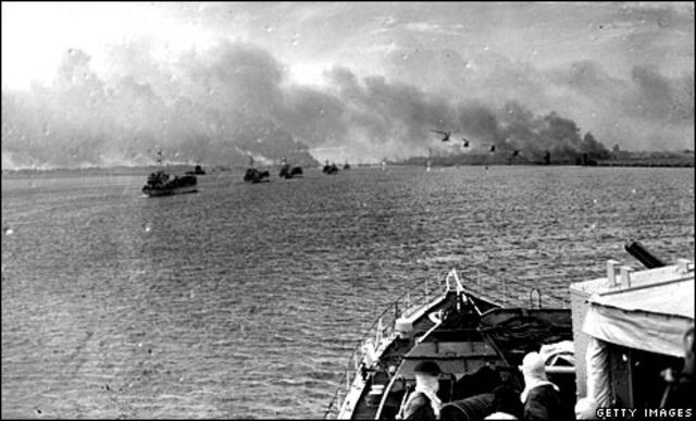 Suez Crisis Ends