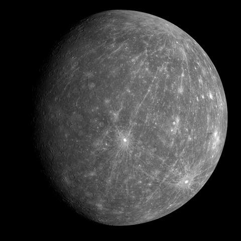Mariner's 2 flyby of Mercury