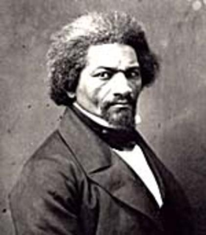 Frederick Douglass Publishes Autobiography