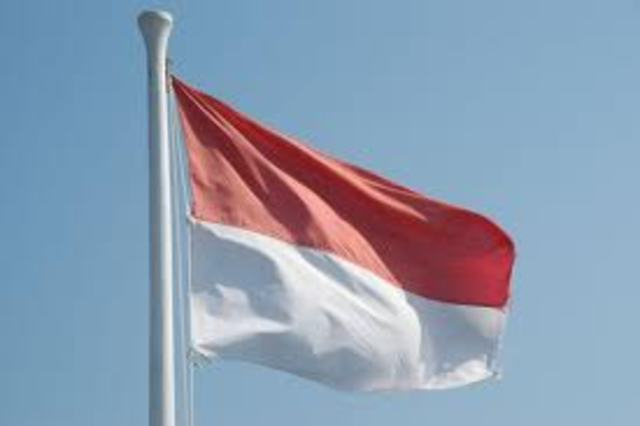 Japanese were thrown out of Indonesia