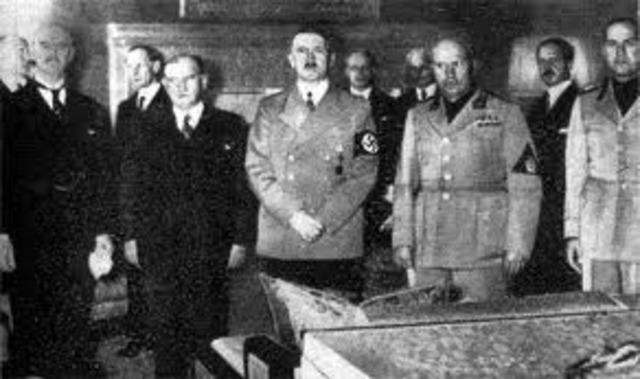 Agreement at Munich