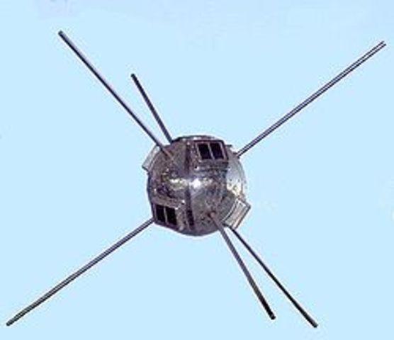 Launch of Vangaurd 1