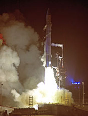 Launching of Space Probe