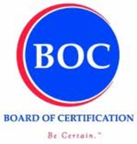 Board of Certification is incorporated to review athletic training programs and certify athletic trainers
