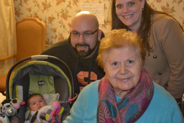 We go see Grandma & Taylor in CT.