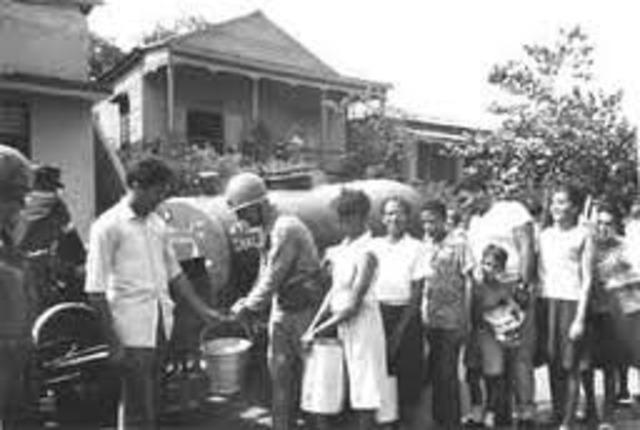 Start of Dominican Civil War