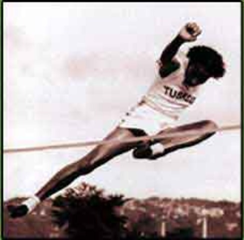 First black woman to win gold medal