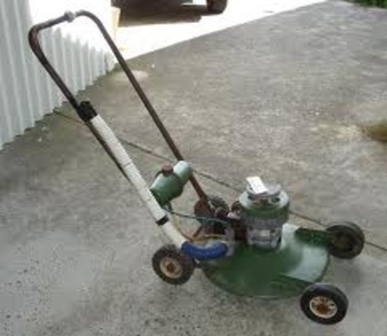 Victa Mower is Invented