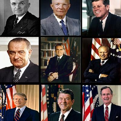 Presidentes de EE.UU durante la Guerra Fría (1945-1991) timeline