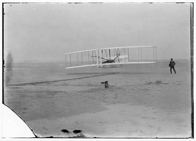 Wright brothers flight: 1903