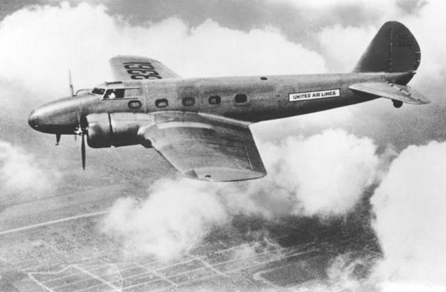 First modern airliner: 1933