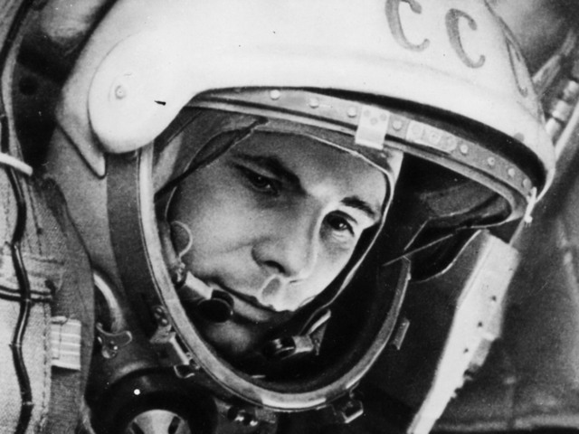 First man in space: 1961