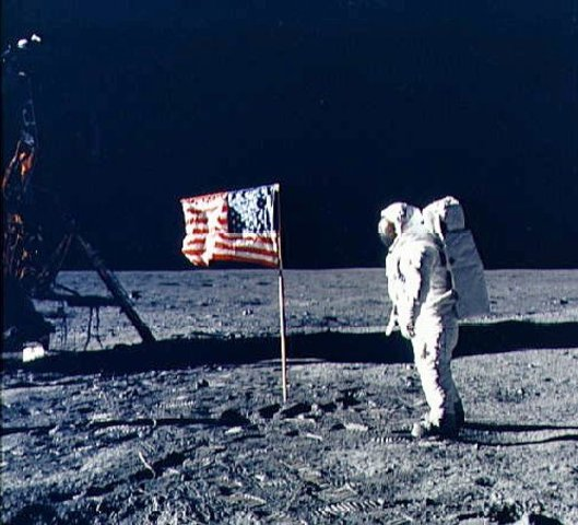 First man on the moon: 1969